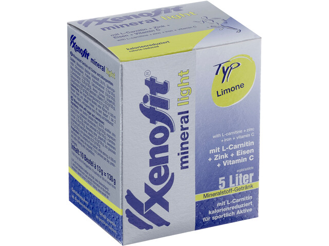 Xenofit Mineral Light Drink Portionsbeutel Limone